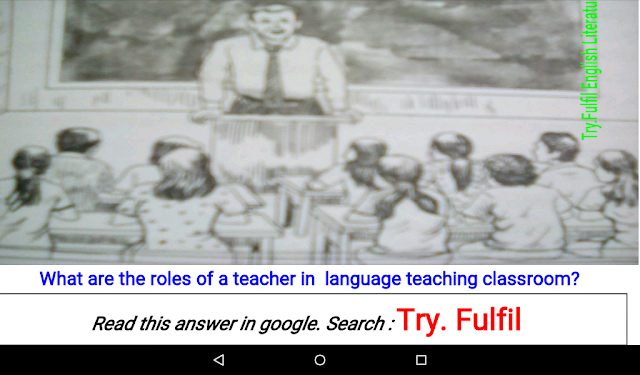 Roles of a teacher in a language teaching classroom. Elt notes
