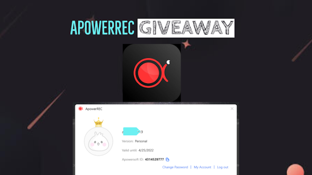 ApowerREC Free License Giveaway Available to 2022