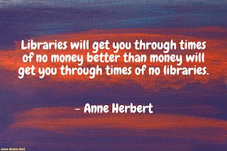 library reading quote