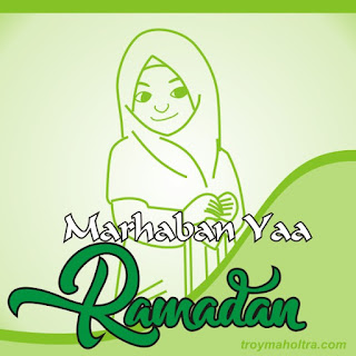 Gambar Marahaban Yaa Ramadhan