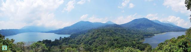 Twin Lakes, Bali