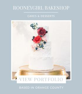 Orange County Wedding Cake Designer