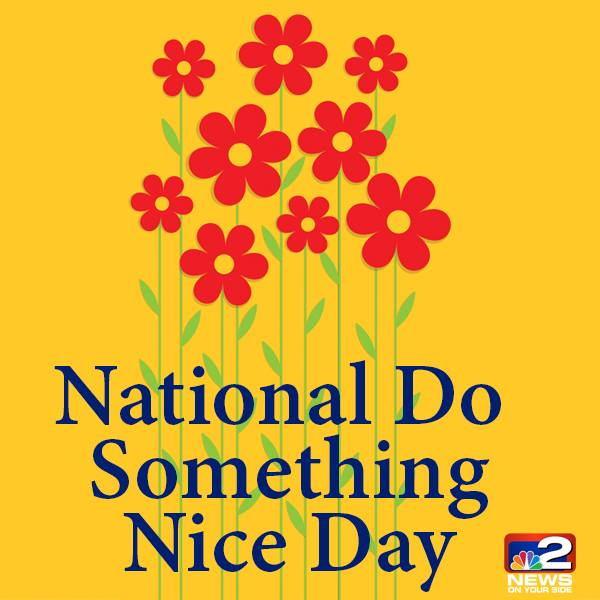 National Do Something Nice Day Wishes Images