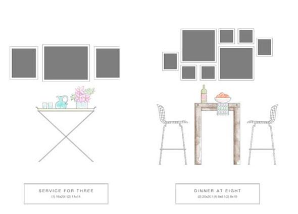 cuadros, organizar, decorar, colocar cuadros en casa