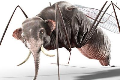 El increíble elefante mosquito.