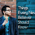 10 Things Every New Believer Should Know