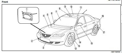 repair-manuals: Mazda 6 2002 Workshop Manual