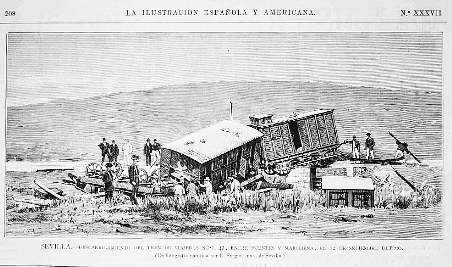 AionSur accide%2Btren-1 El jueves, ruta turística por la historia del tren en Marchena Asociaciones Marchena Provincia Sociedad