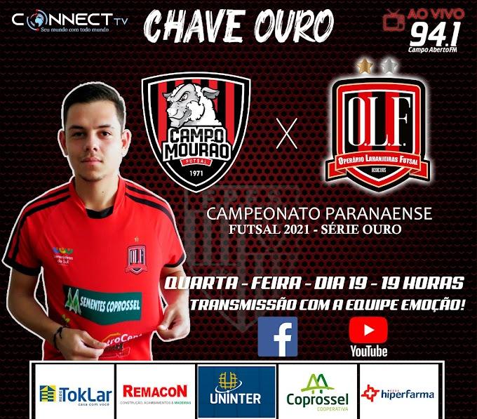 Operário enfrenta Campo Mourão nesta quarta e você vai assistir pela Connectv e Campo Aberto