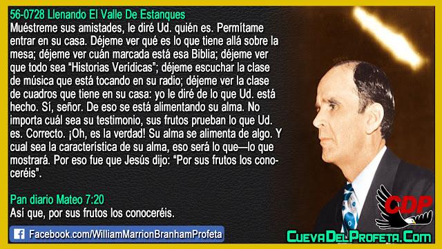 Yo le diré de lo que Ud. está hecho - William Branham en Español