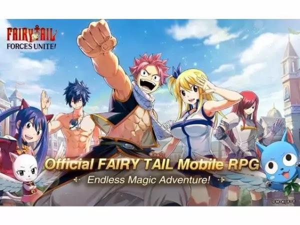 Fairy Tail - Force Unite Resmi di Rilis, Download Sekarang!