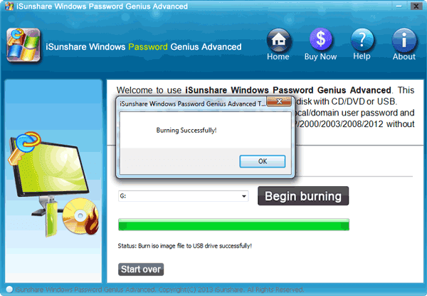 windows server 2012 r2 password reset disk