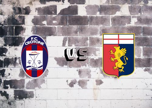 Crotone vs Genoa  Resumen