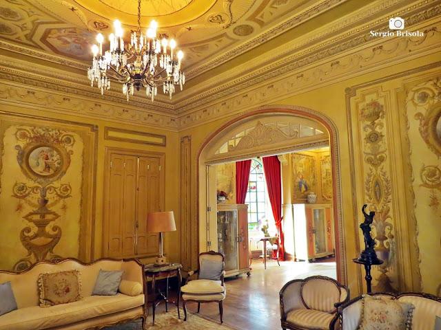 Palacete Rosa - Sala de visitas