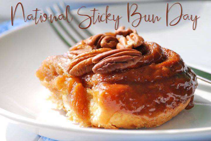 National Sticky Bun Day Wishes Lovely Pics
