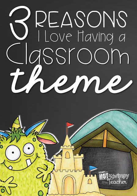 3 Reasons I Love Having a Classroom Theme