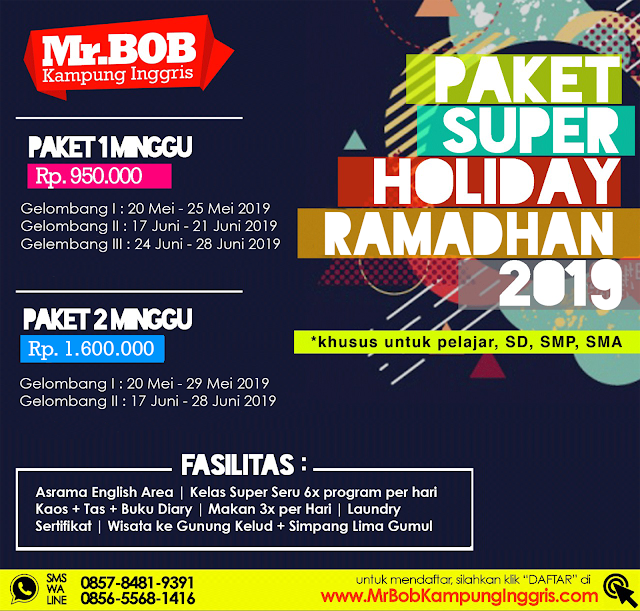 Paket Super Holiday 2019