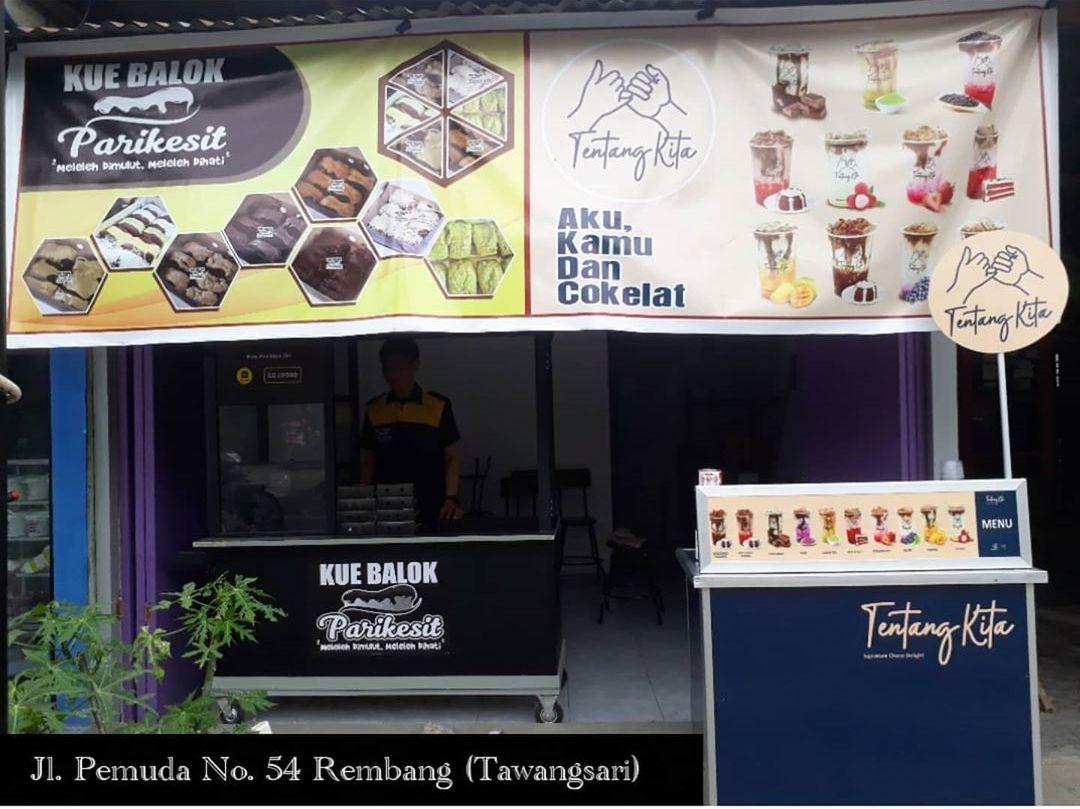 Opening Promo Available On GrabFood, Diskon Ongkos Kirim 6 ribu Kue Balok Parikesit Rembang