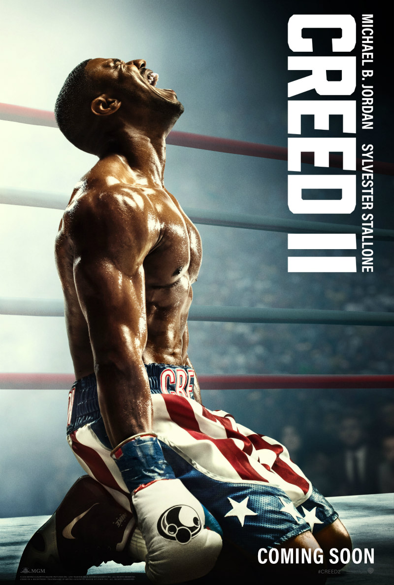 creed 2 poster michael b jordan