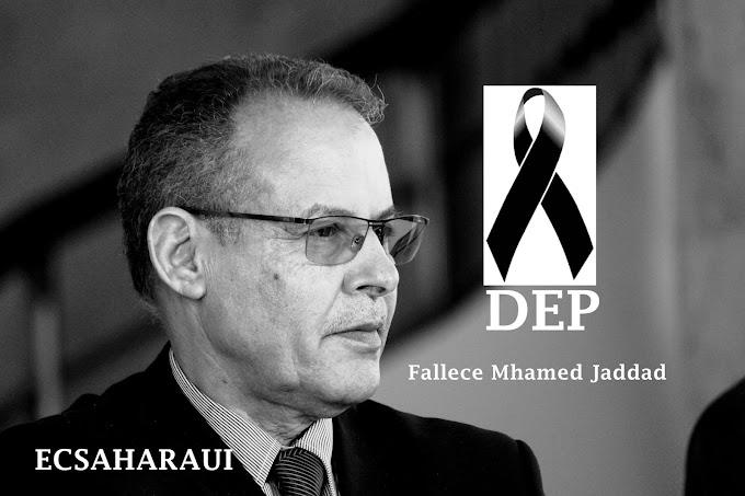 المرصد الدولي لمراقبة الثروات الطبيعية للصحراء الغربية يعزي رئيس الجمهورية في وفاة القيادي أمحمد خداد.