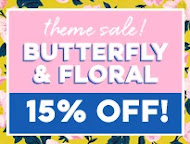 Shop Scrapbook.com (Butterfly and Floral 15% off)