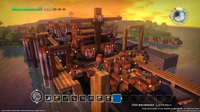 dragonquest builders Galleon