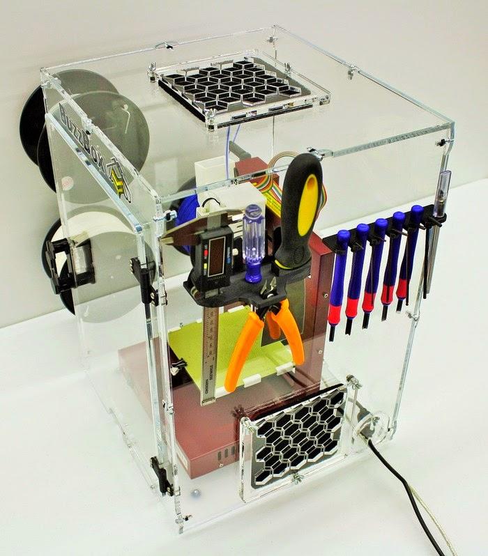 BUZZBOX UNIVERSAL 3D PRINTER ENCLOSURE   Article - Tue 30 Dec 2014 01:42:00 AM UTC - Microfabricator.com