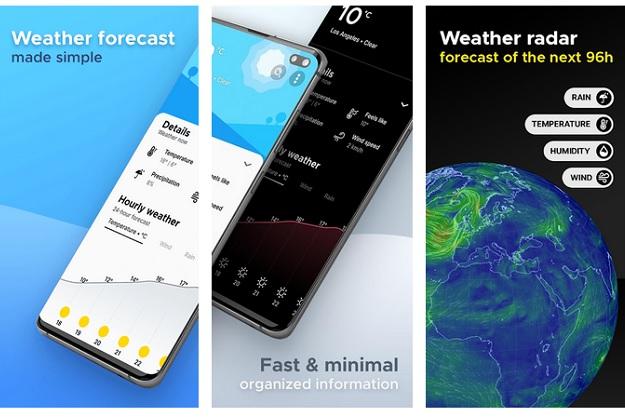 overdrop free best looking weatehr app