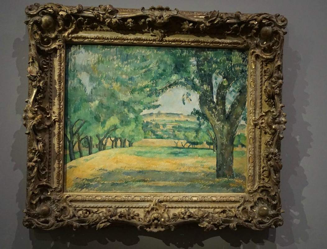 Paul Cezanne's painting 1885-1887