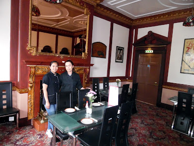 The historic Tiffin Room at the Exchange Coach House in Brigg town centre is now being used for dining again