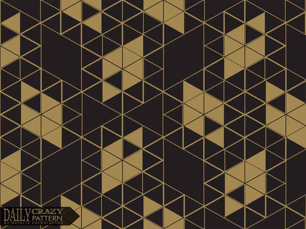 "Geometric elegance print foe ""Daily Crazy Pattern"" project"