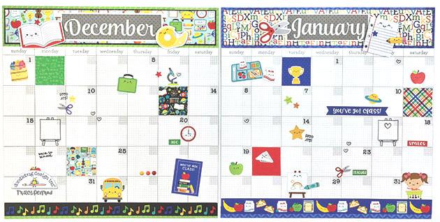 Doodlebug Design Inc Blog School Days 12 Month Daily Doodles