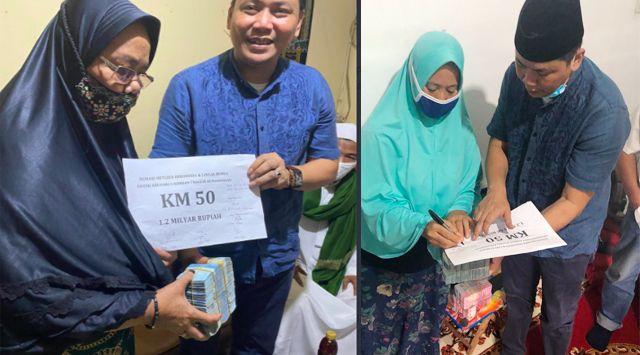 Donasi 6 Anggota FPI Terkumpul Rp1,7 Miliar, Irvan Gani : Saldo Masih Ada 500 Juta