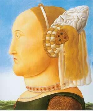 Depois de Piero Della Francesca - Fernando Botero e suas pinturas ~ O pintor das figuras volumosas