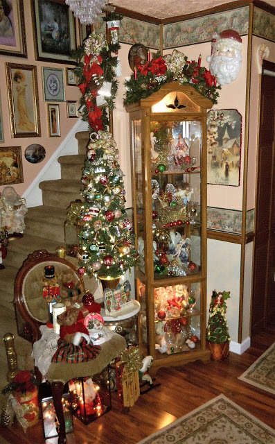 Christmas in the Living Room, Part 1, Christmas Home Tour, 2018
