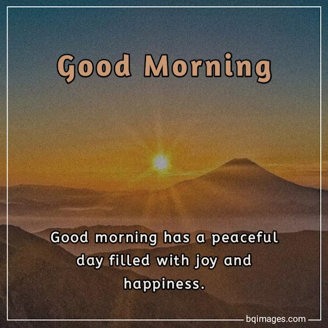 beautiful good morning blessings