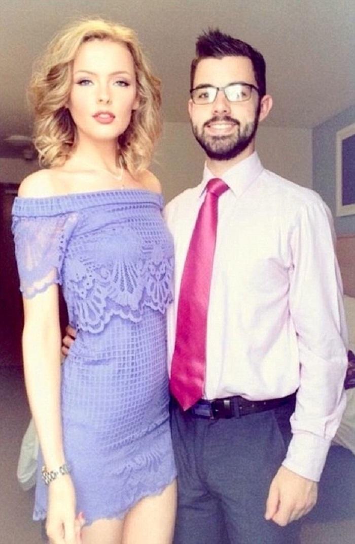 Beth, alături de iubitul ei