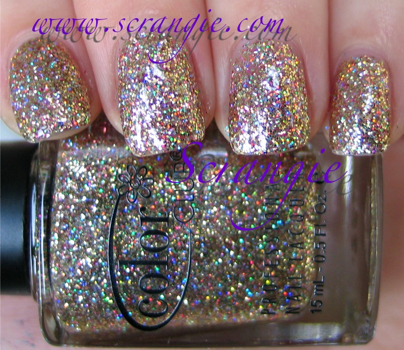 Scrangie Color Club Beyond The Mistletoe Collection Holiday 2011 Swatches And Review
