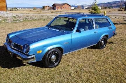 Daily Turismo: 5k: Few Remain: 1975 Pontiac Astre SJ Safari