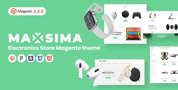 Smart Gadgets Store Magento Theme