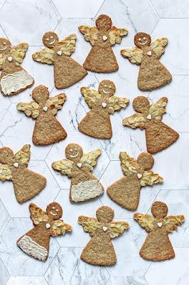 Speculaas keks u obliku anđela