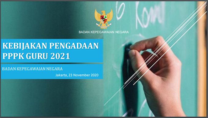 Penerimaan PPPK (P3K) Guru 2021