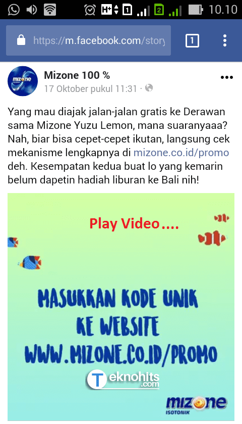 Play video facebook