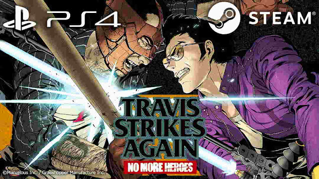 Game Travis Strikes Again: No More Heroes Akan Dirilis di PS4 & PC