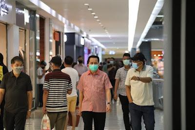 Pjs. Gubernur Sulawesi Utara Pantau Penerapan Protokol Kesehatan