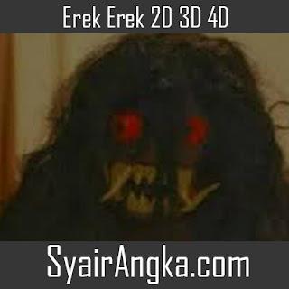Erek Erek Lelepah 2D 3D 4D