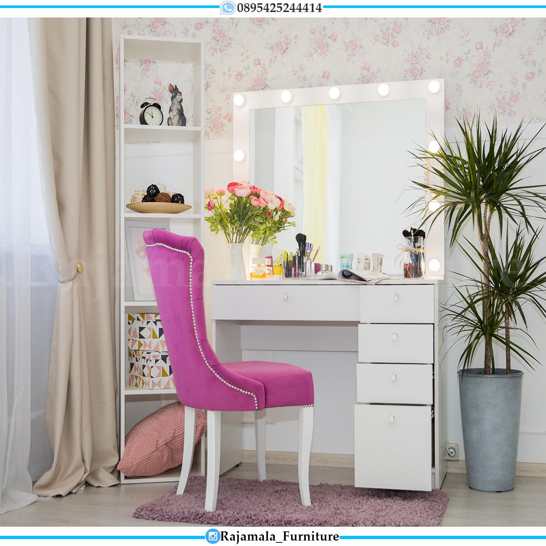Meja Rias Terbaru Minimalis Modern Luxury Furniture Jepara RM-0157