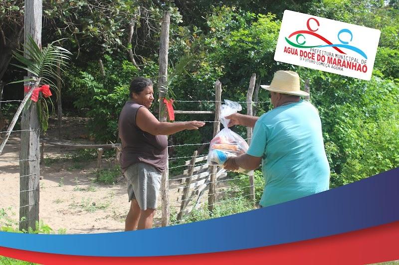 EM ÁGUA DOCE: Prefeitura finaliza entrega das cestas básicas para as famílias em vulnerabilidade no município