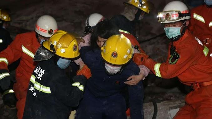 Édesanyát és gyermekét sikerült kimenteni az összedőlt karanténszálloda alól