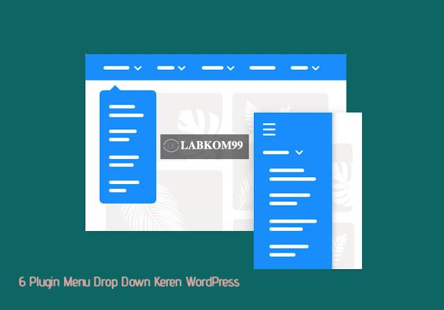 6 Plugin Menu Drop Down Keren WordPress